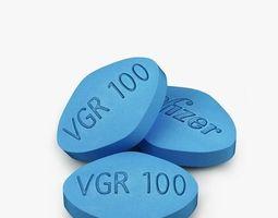 3D model Pills Viagra