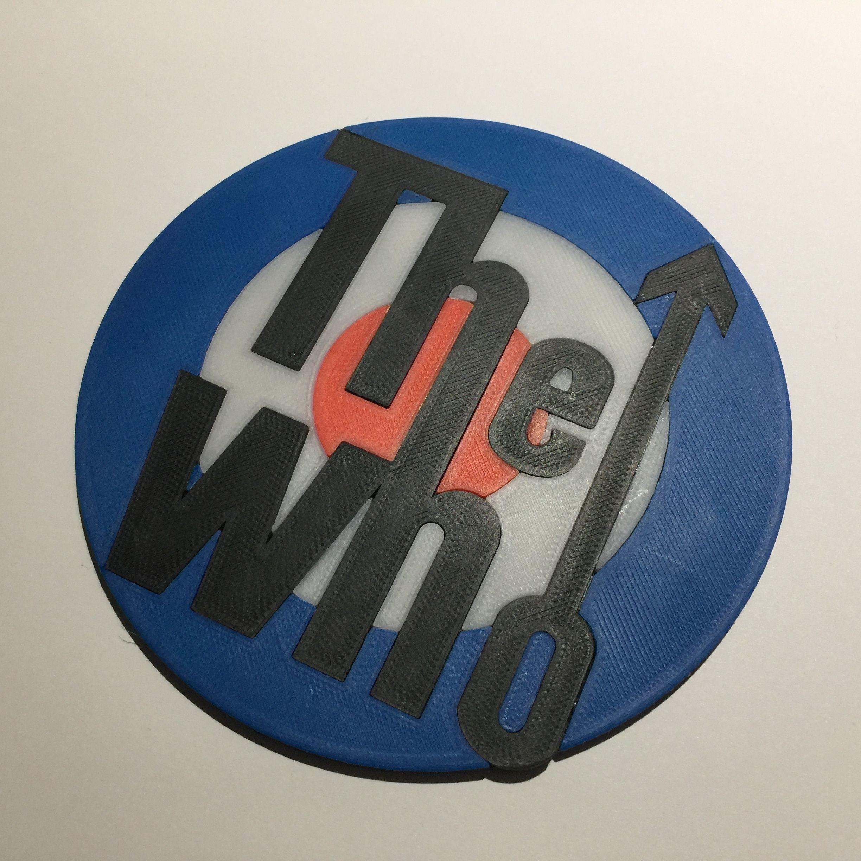 The Who Logo Coaster