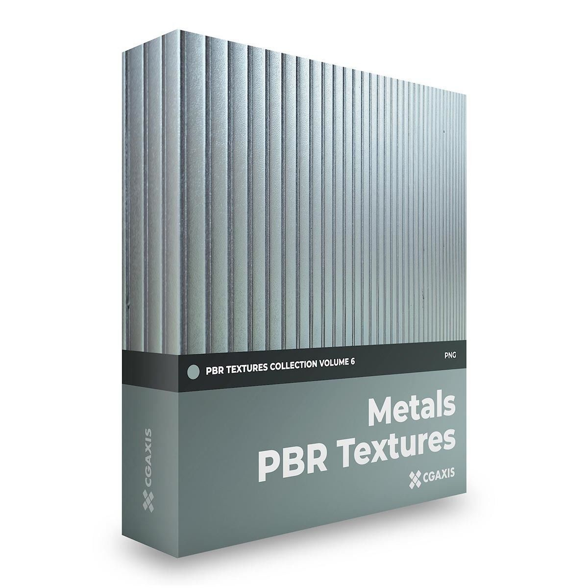 CGAxis Metals PBR Textures Collection Volume 6