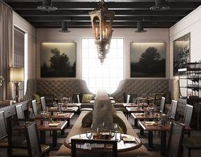 La V Restaurant in Austin Texas 3D