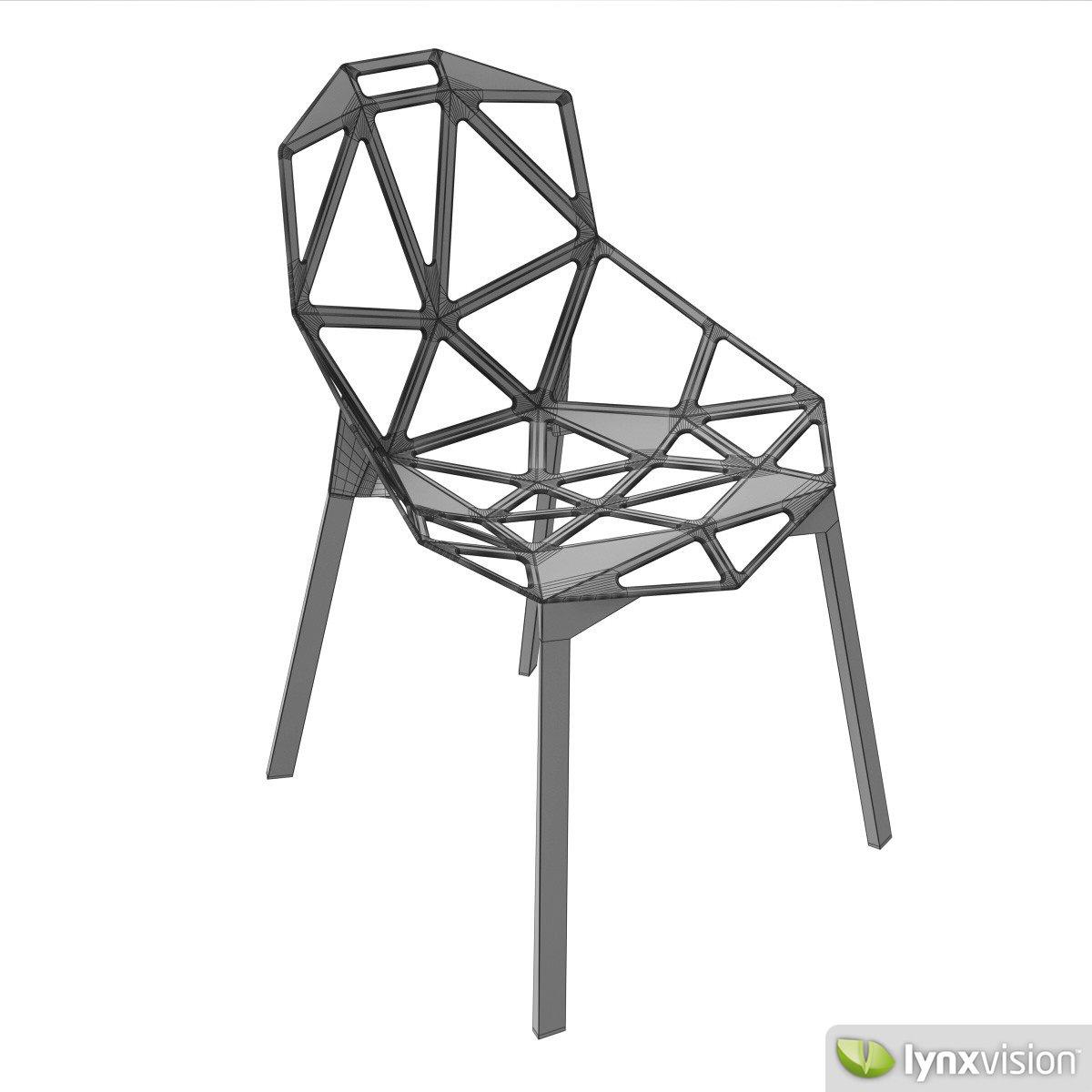 ... Chair One   Magis 3d Model Max Obj Fbx Stl Mtl 9 ...