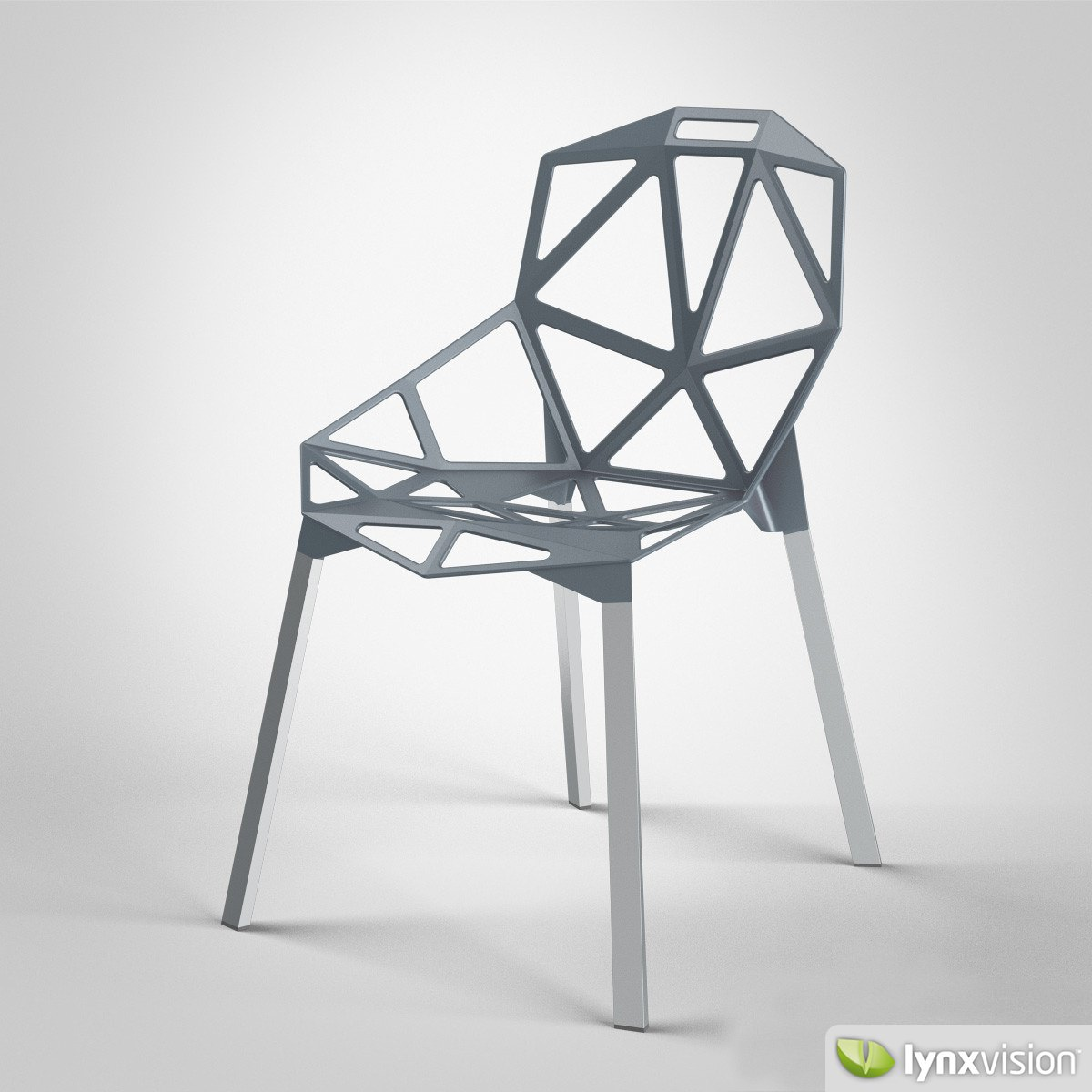 chair one magis 3d model max obj fbx. Black Bedroom Furniture Sets. Home Design Ideas