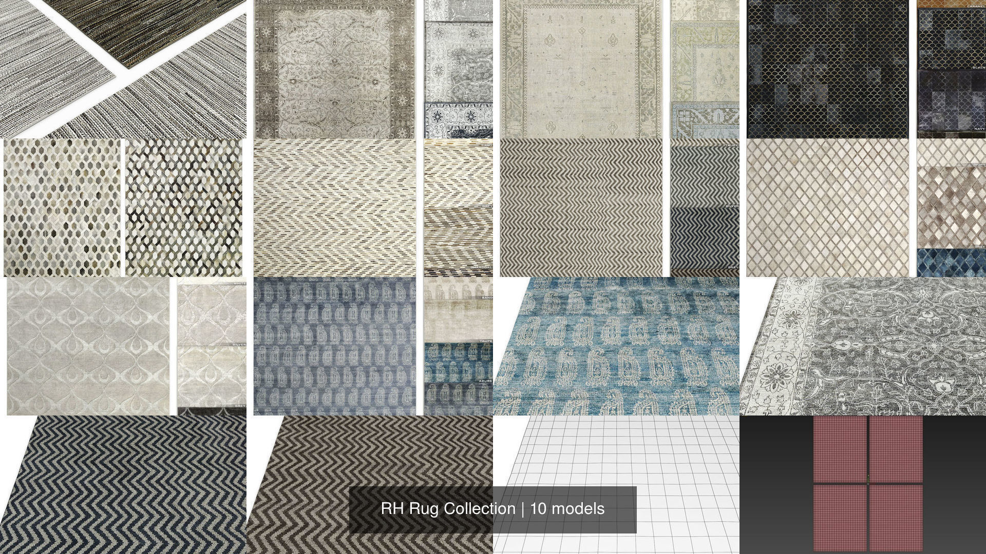 RH Rug Collection