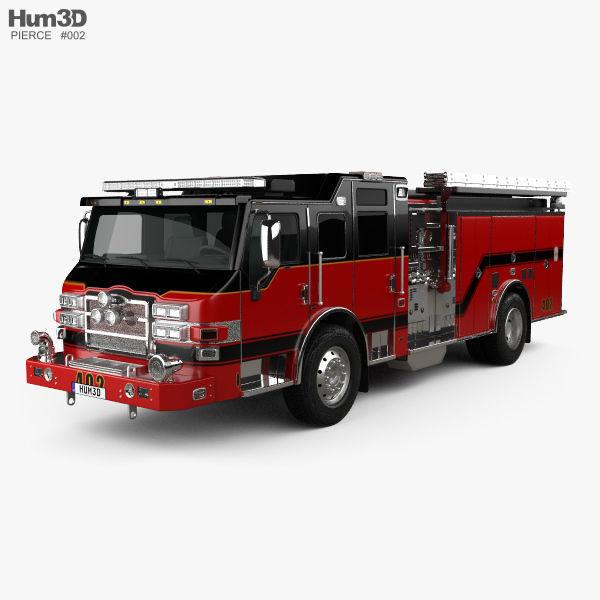Pierce E402 Pumper Fire Truck 2014