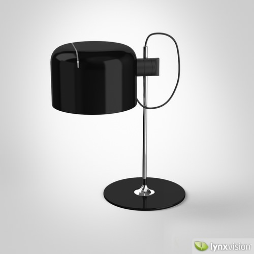 Coup Table Lamp3D model