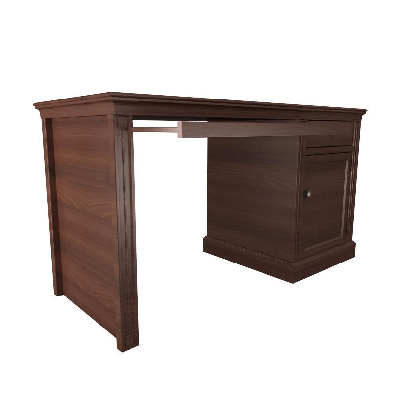 Furniture 7 Computer Desk 3d Model Max Obj 3ds Fbx