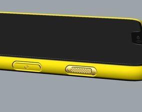 Oneplus 6 yellow case design 3D print model