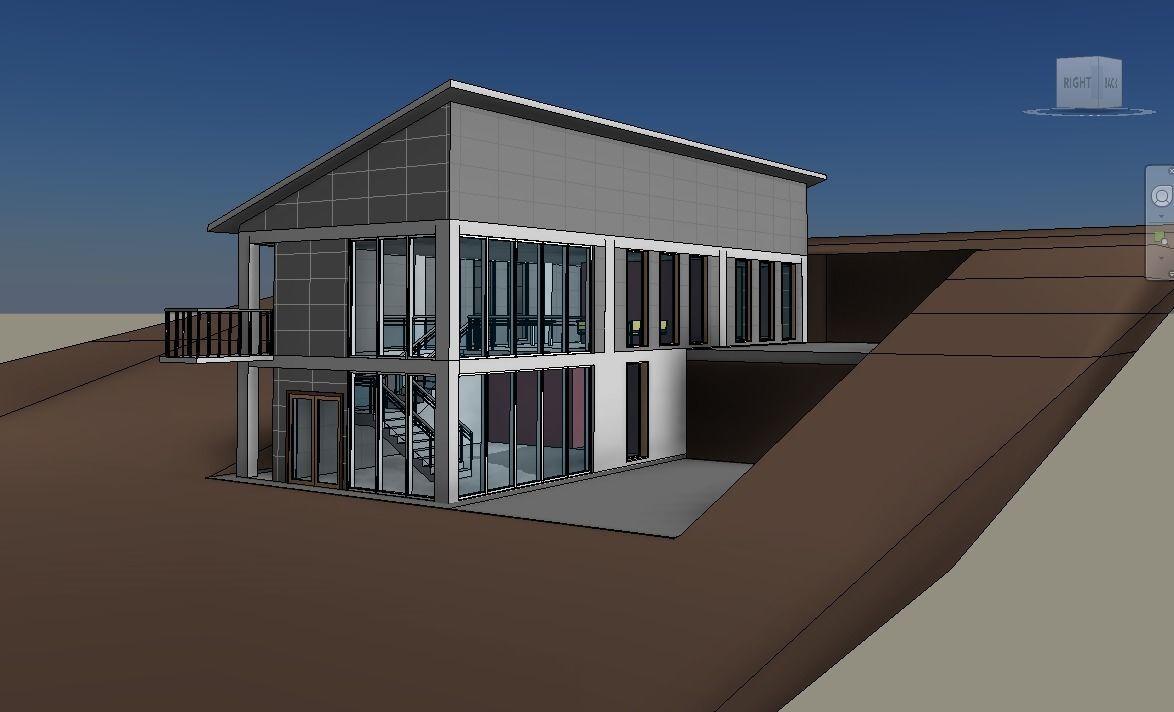 Revit Villa Detail Model | 3D model