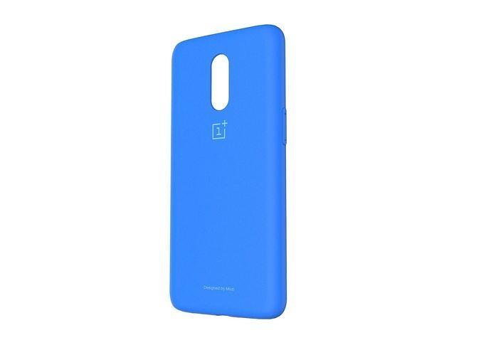 original oneplus 6t blue case 3d model 3d model obj mtl 3ds fbx stl 3dm skp 1