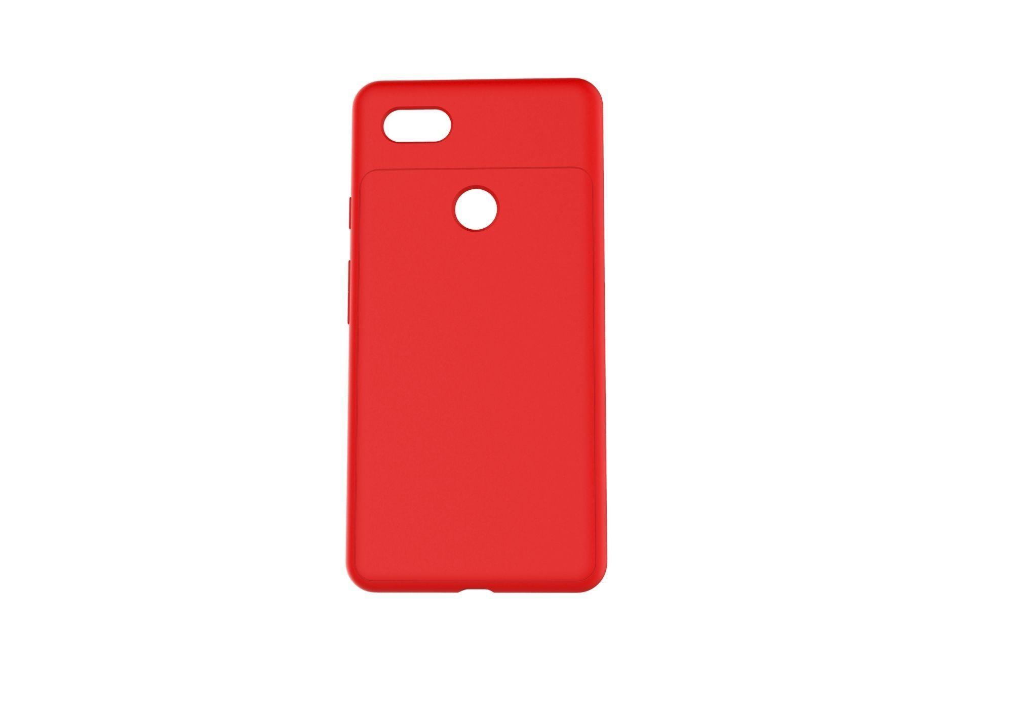 Google Pixel 3xl red case customizable design