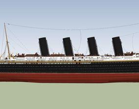 RMS Lusitania 3D