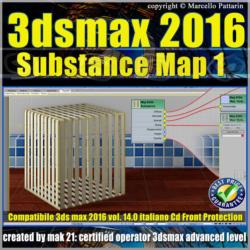 014 3ds max 2016 Substance Map volume 14 cd front