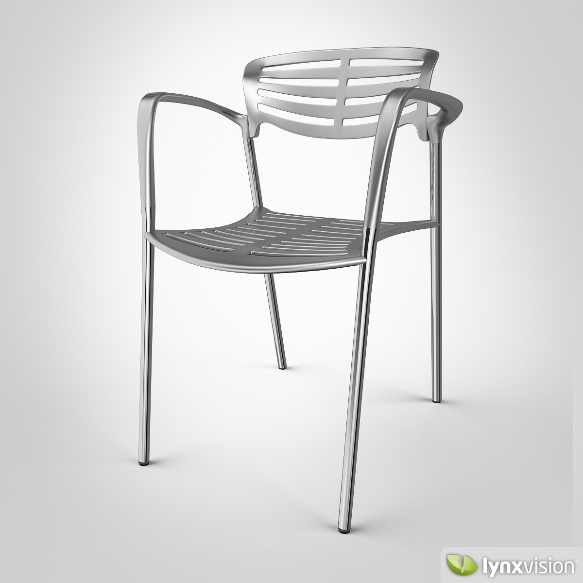 toledo chair by knoll 3d model max obj 3ds fbx mtl 1 ... & Toledo Chair by Knoll 3D | CGTrader