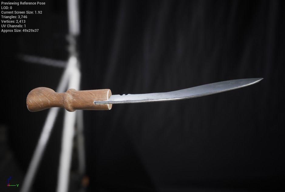 Knife | 3D model