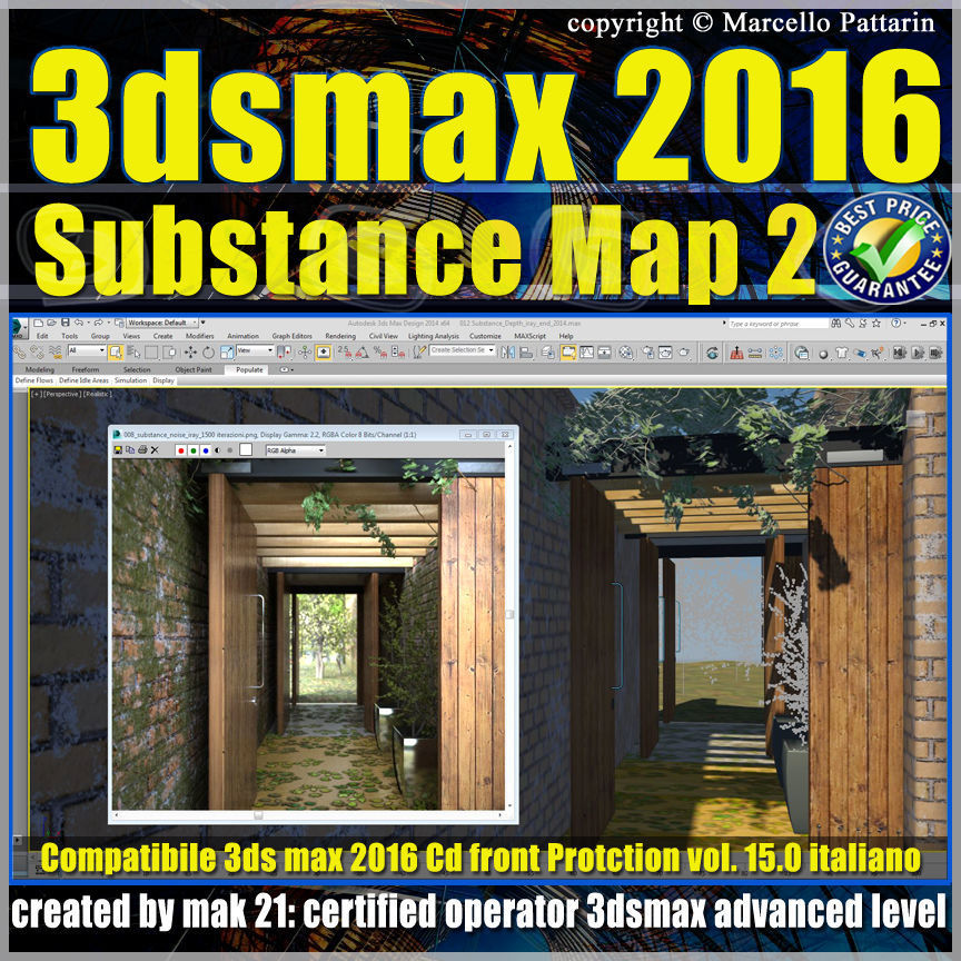 015 3ds max 2016 Substance Map volume 15 cd front