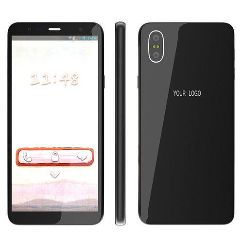generic smartphone 3d model max obj mtl fbx 1