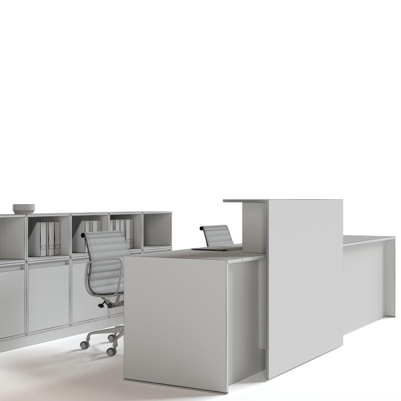 Office Reception Furniture Set Model