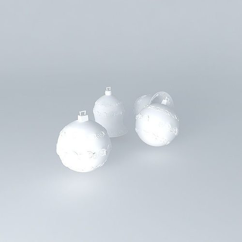 xmas decor 3d model max obj 3ds fbx stl dae 1
