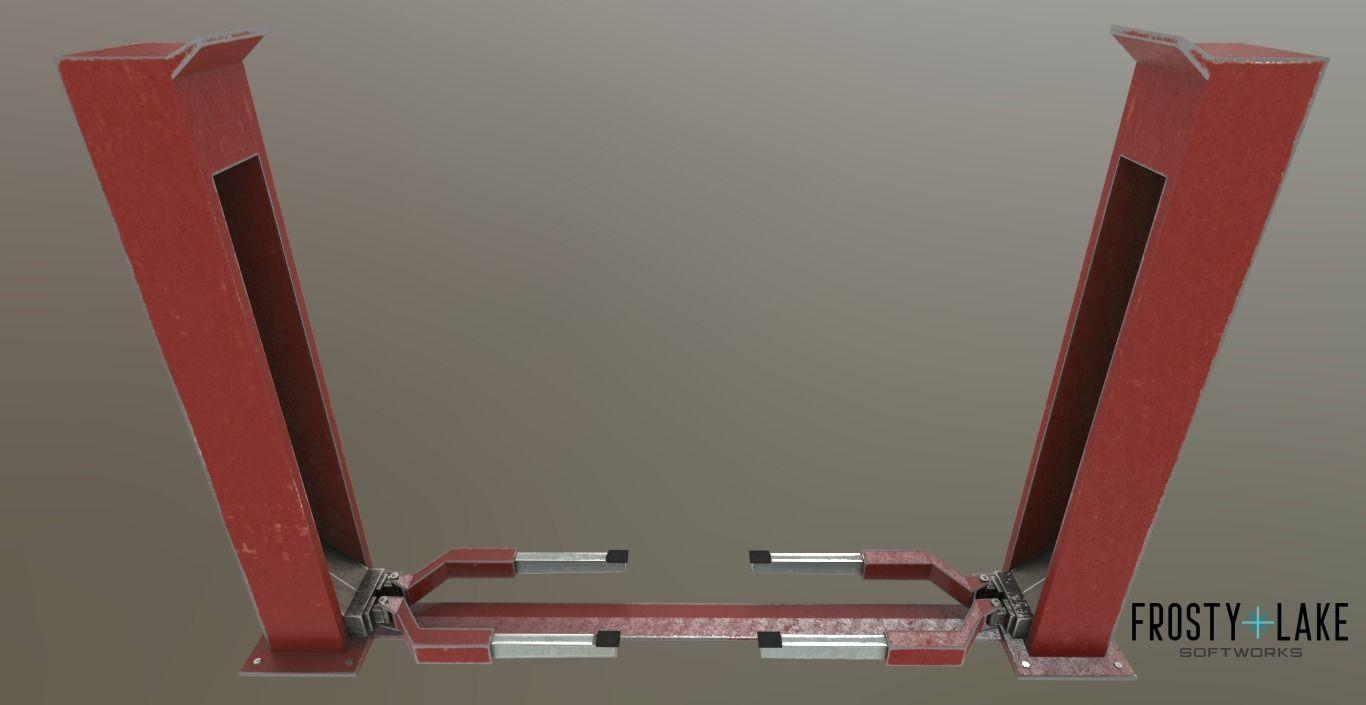 Simple Car Lift  car jack PBR