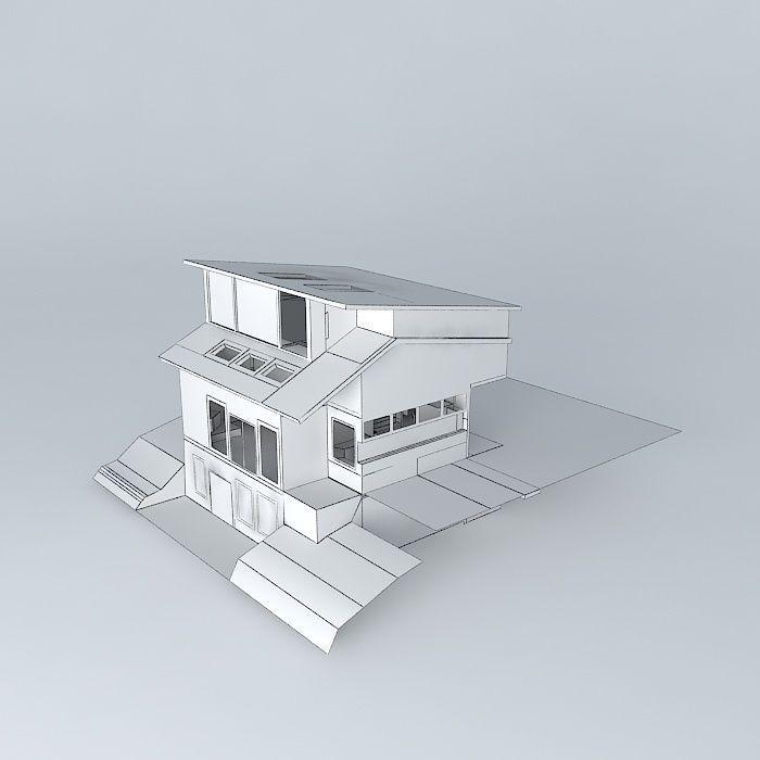 House Design 3d Model Max Obj 3ds Fbx Stl Dae 5