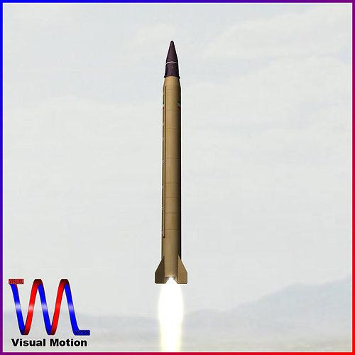 emad ballistic missile 3d model obj mtl 3ds fbx dxf blend dae 1