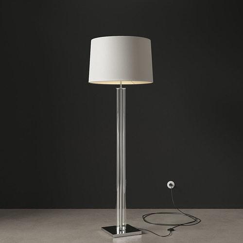 arteriors norman floor lamp 3d model max fbx 1