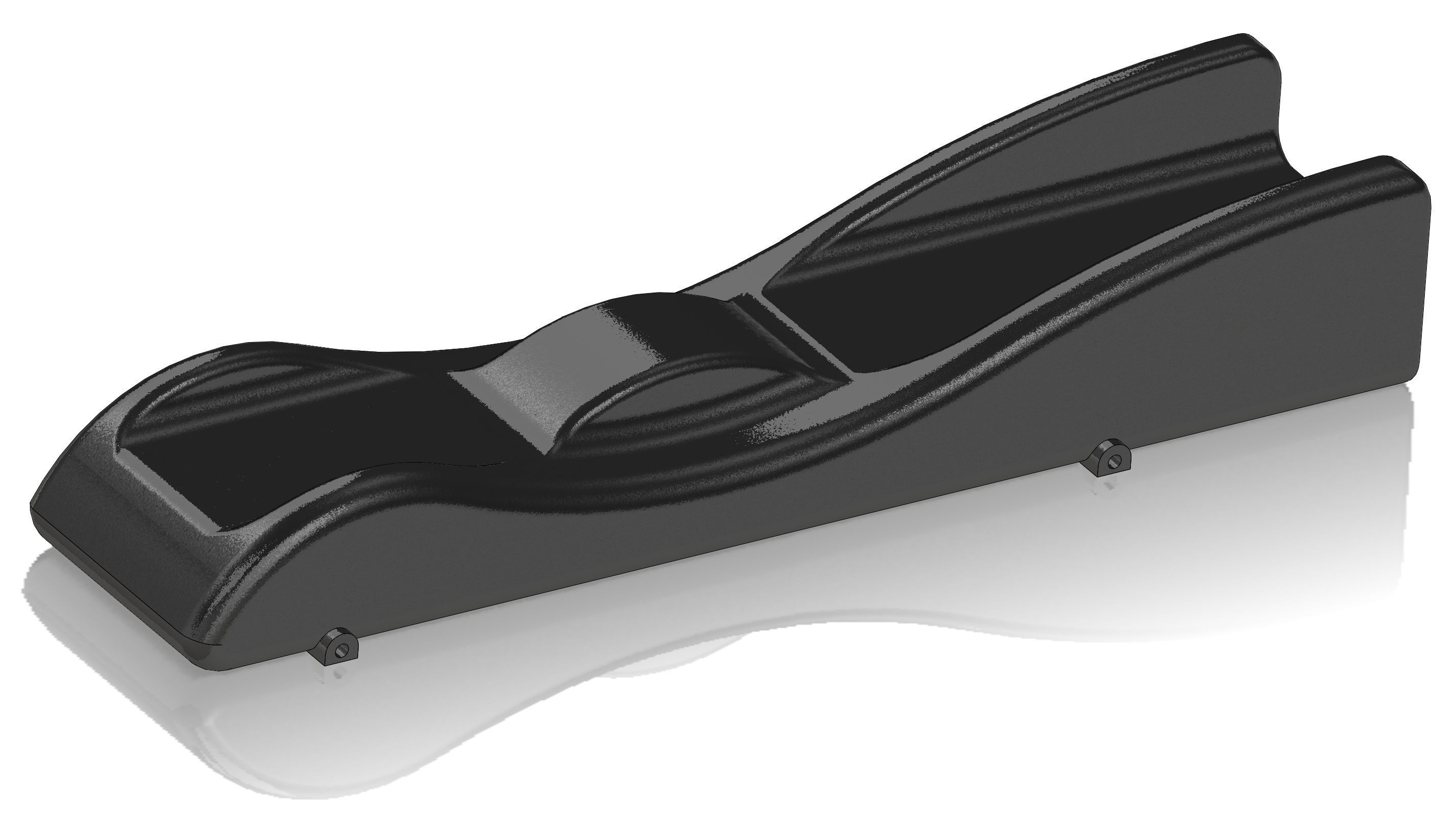 Batmobile Pinewood Derby Car 3d Model Obj Mtl Stl 1
