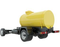 tank chassis cistern 3d model max obj 3ds fbx