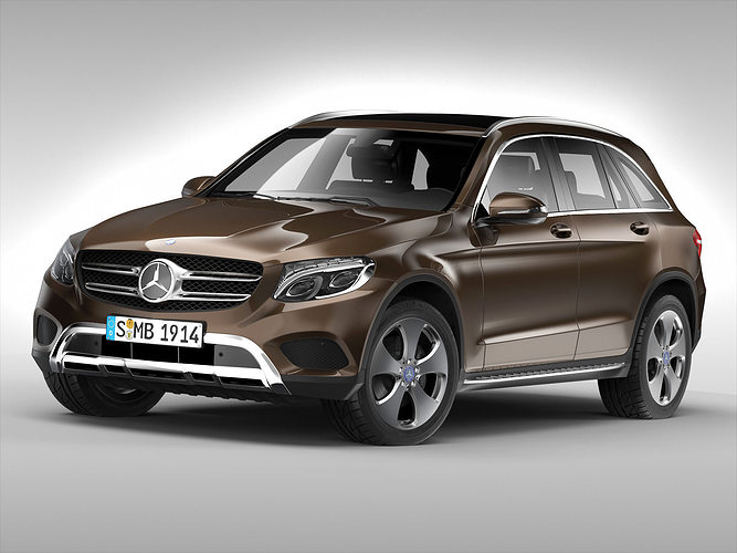Mercedes benz glc class 2016 3d cgtrader for Mercedes benz suv models list