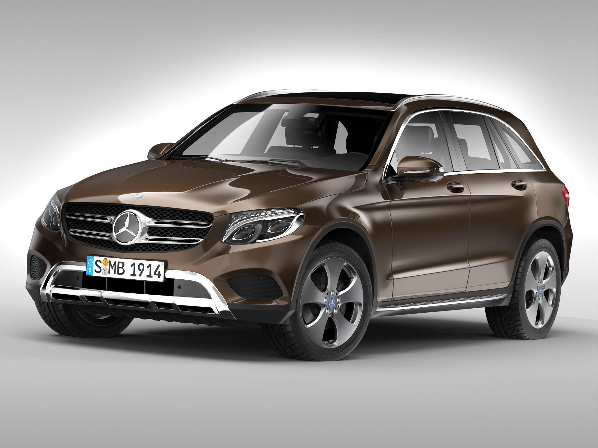 Mercedes Benz Glc Class 2016 3d Model Max Obj 3ds Fbx