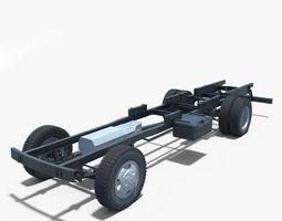 chssis truck 3D Model