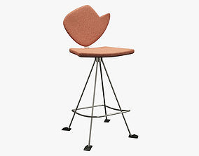 3D asset Realistic Chair 020