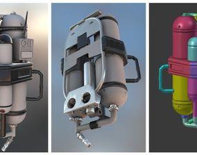 3D printable model FlameTrooper TankPack