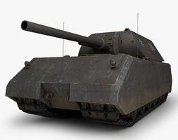 Maus German tank 3D Model