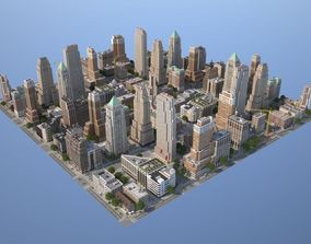 City KC7 Art Deco 3D asset