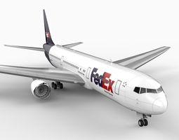 767-300 Freight 3D Model