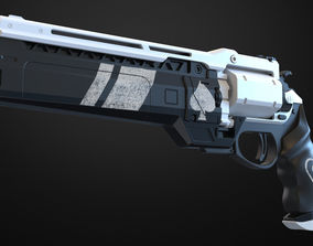 Ace of spades Hand cannon - Destiny 3D print model