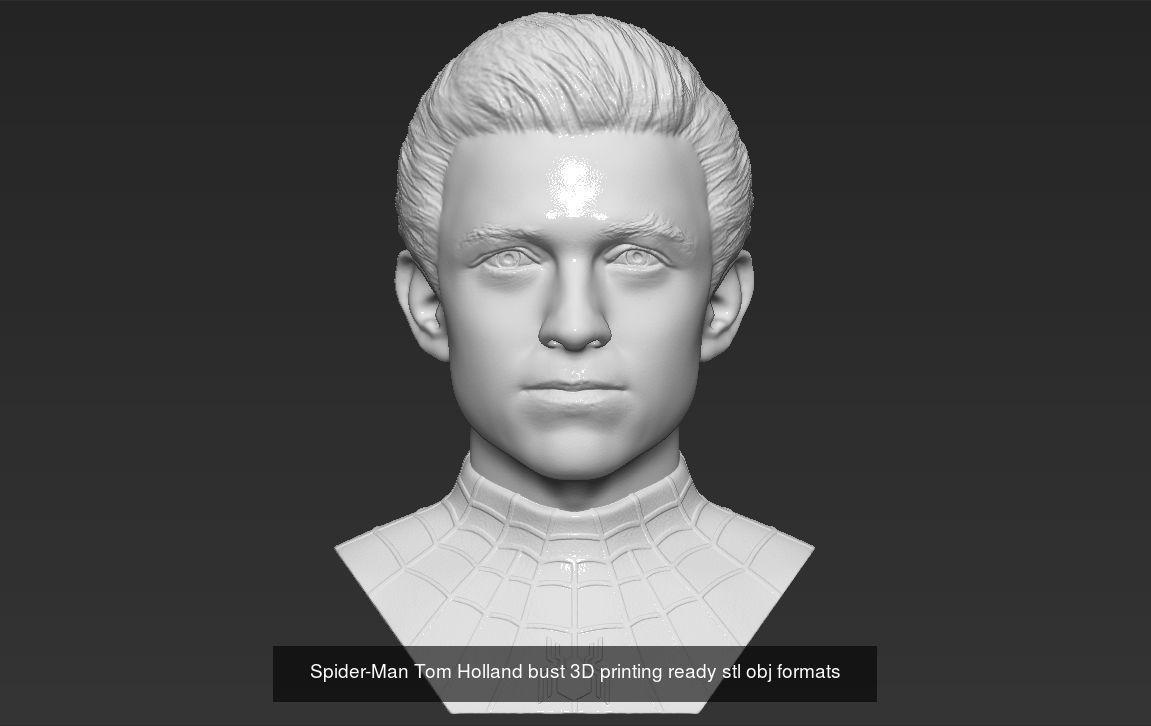 Superheroes busts 3D printing ready stl obj formats