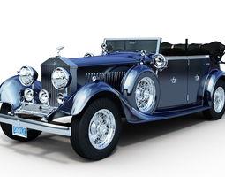 Rolls Royce Phantom II 3D Model