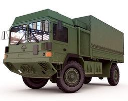 Man Military Truck 3D