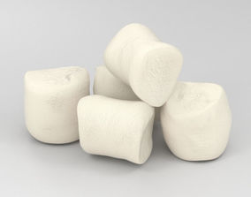 Marshmallow 3D model