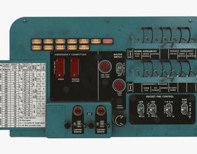 Mi-8MT Mi-17MT Left Circuit Breaker Console 3D asset