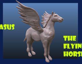 Pegasus horse greek 3D