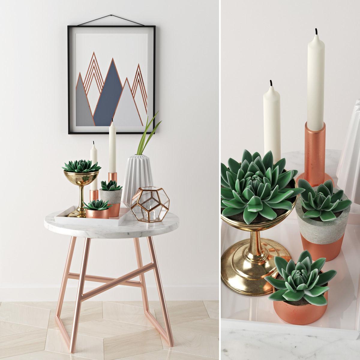 Algedi table decoration set