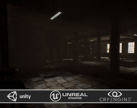 3D asset Abandoned property pack for Game Ready