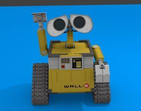 3D model sci WALL-E Non-Armature Rig Test