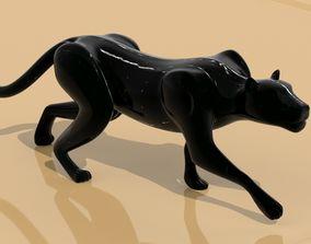 3D print model Black panther sneaking