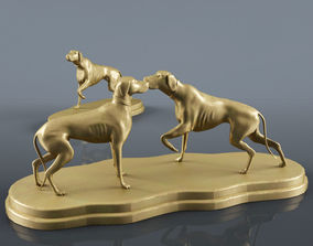 Fabian Smith Dog Statue 3D model