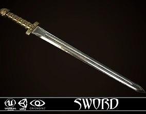 Sword 05 3D asset