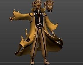 Naruto Kuybi Mode art 3D print model